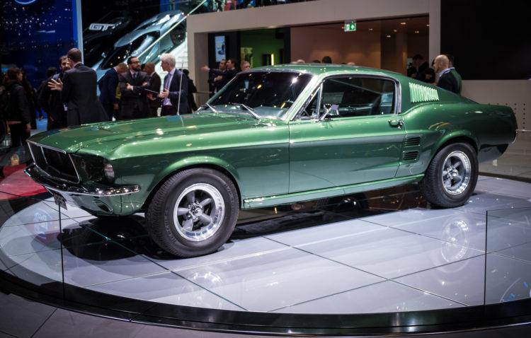 "Ford Mustang ""Bullitt"" mit 475 PS"