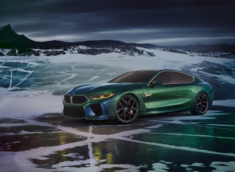 BMW M8 Gran Coupé am GIMS2018