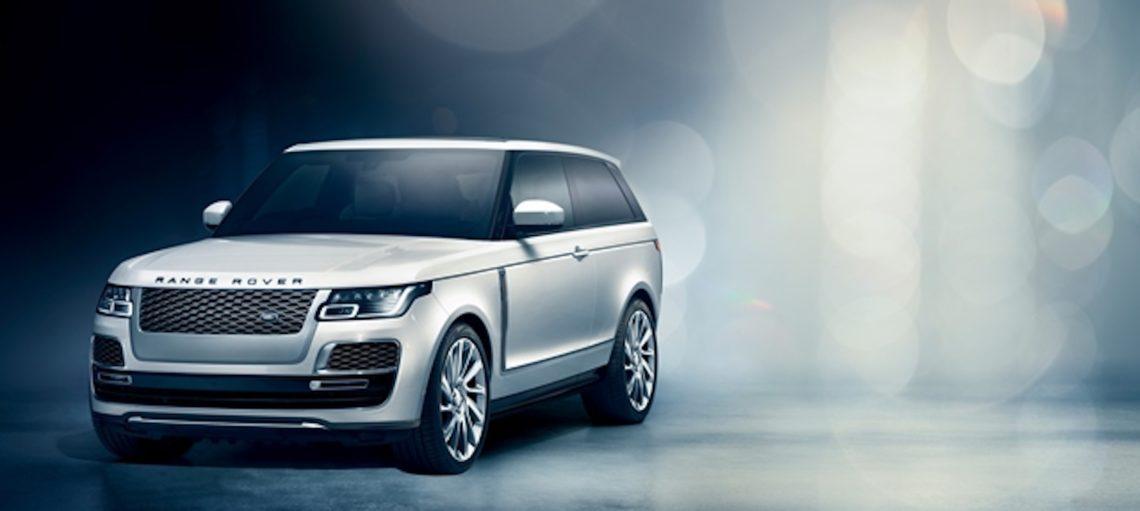Range Rover SV Coupé: Exclusive Hommage