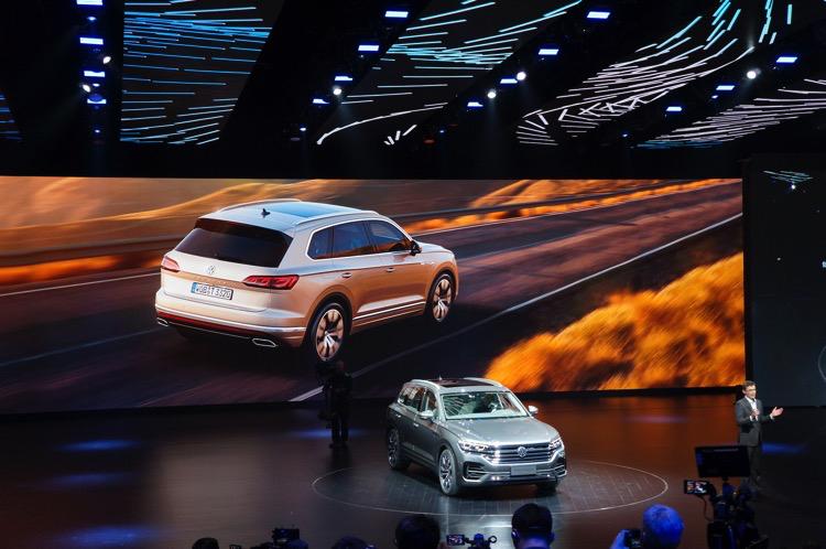 VW Touareg III mit Weltpremiere in Peking.