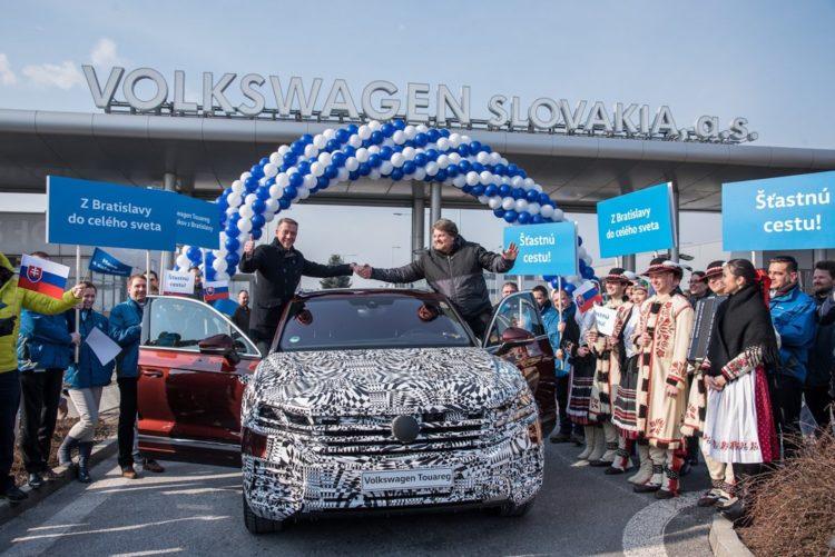 VW Touareg: Ankunft in Peking