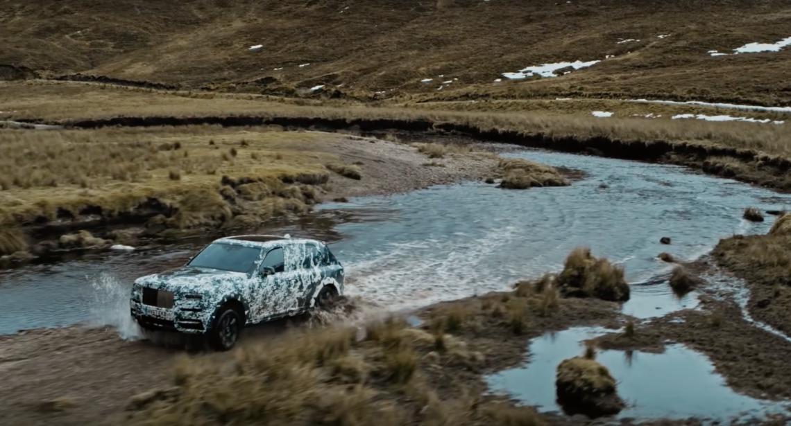 Rolls-Royce Cullinan: take the best and make it better…