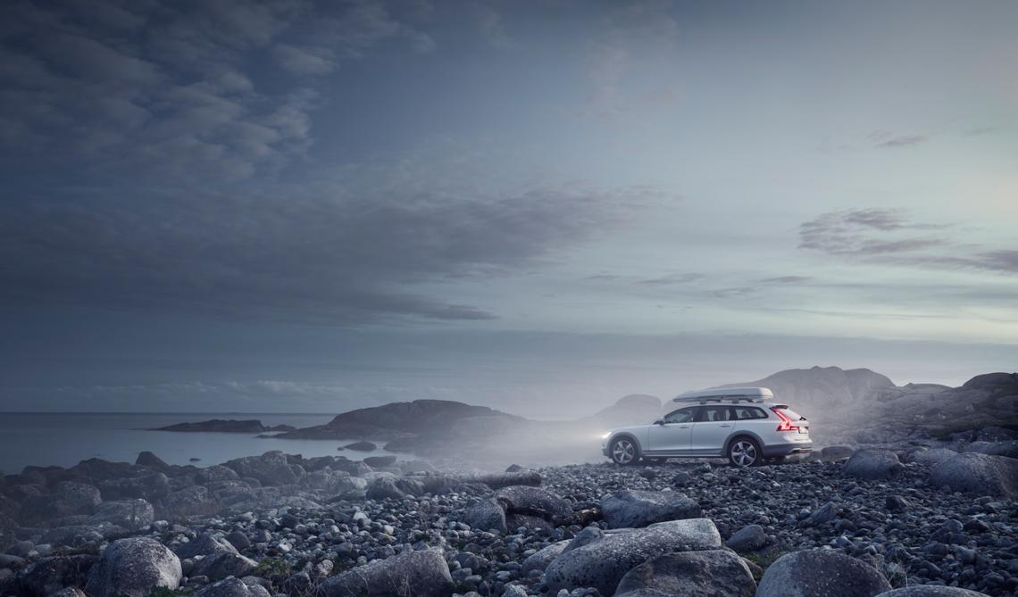 Eric Börjeson, der Jacques Cousteau Schwedens, startet seine Abenteuer im Volvo V90