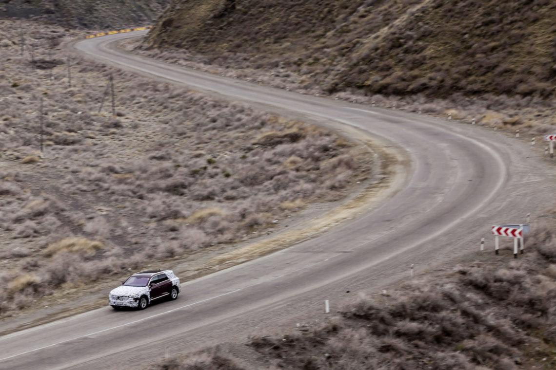 Der lange Weg: 16'000 km-Roadtrip mit dem VW Touareg