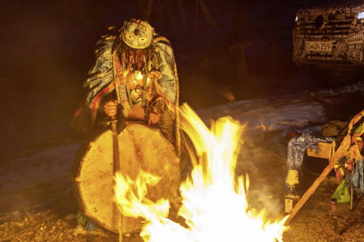 Schamanisches Ritual