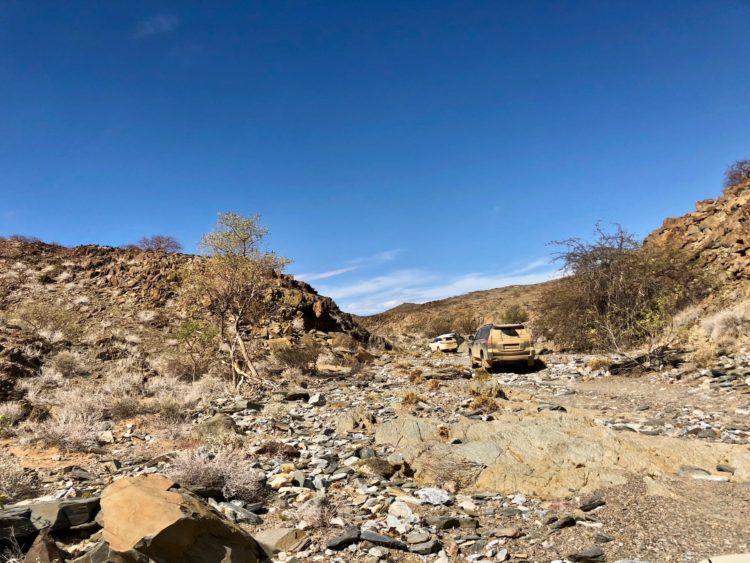 Über Stock und Stein mit dem Land Cruiser