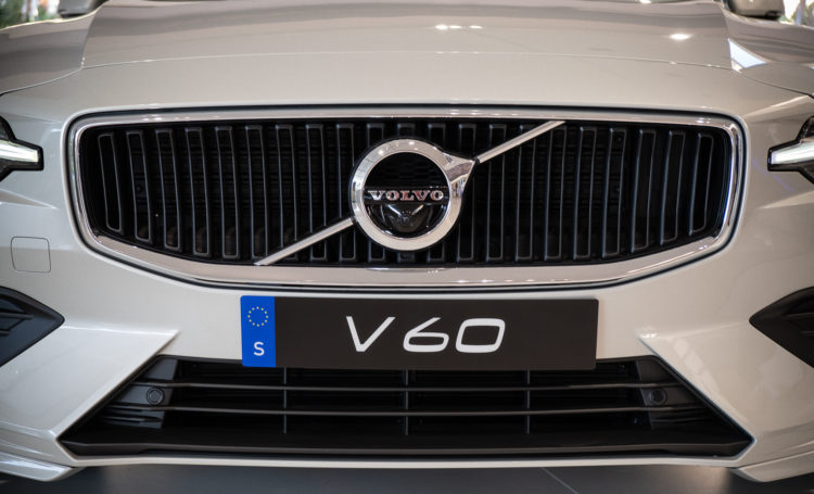 Volvo V60 T6 AWD – Kühlergrill