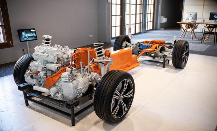 Volvo V60 T6 - Benzinmotor