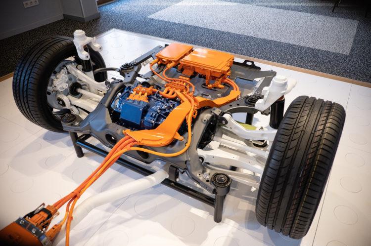 Volvo V60 T6 - Elektromotor
