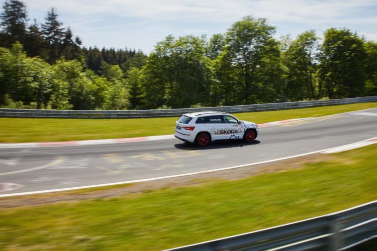 Der Skoda Kodiaq RS auf Nürburgring