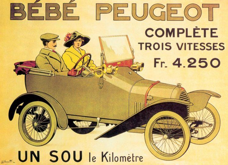 Der Peugeot Bébé von 1913