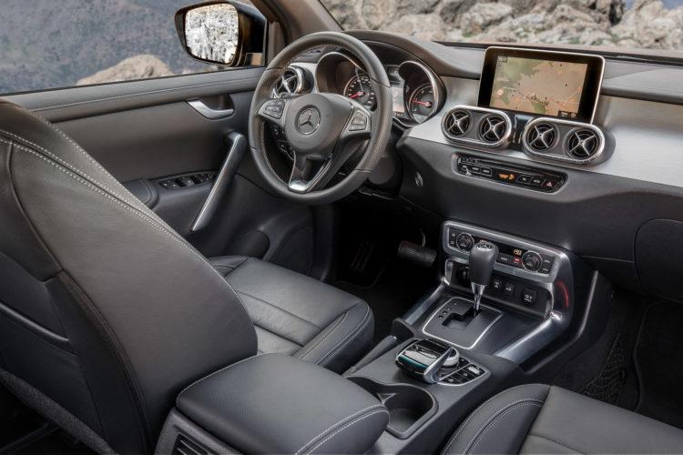 Mercedes-Benz X 250d Interieur