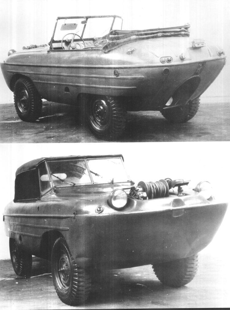 Skoda 972 Amphibienfahrzeug