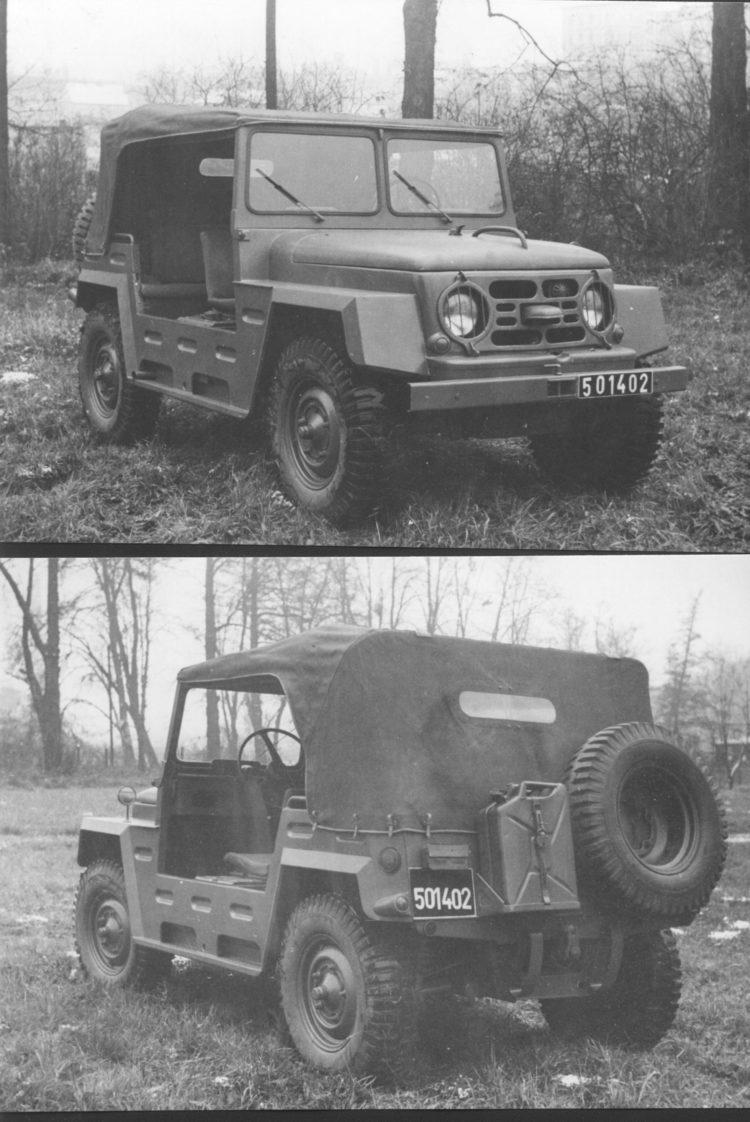 Skoda 973 Jeep