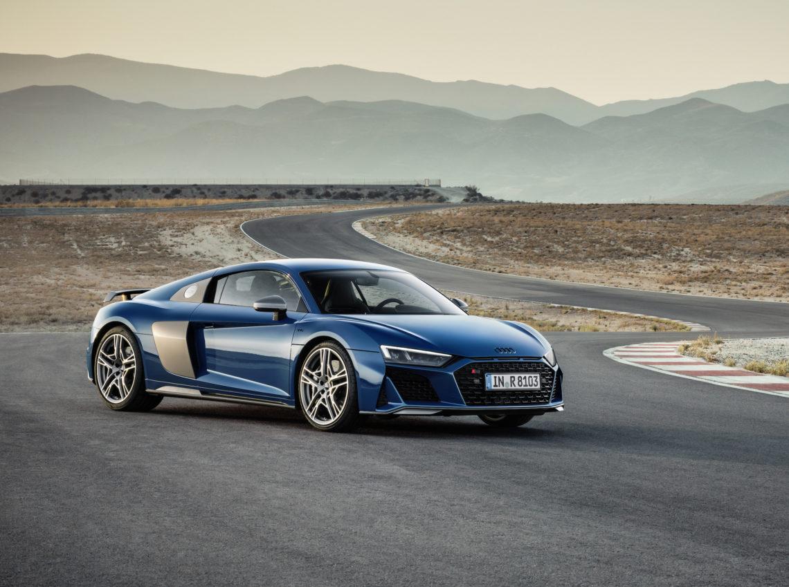 Facelift Audi R8 quattro
