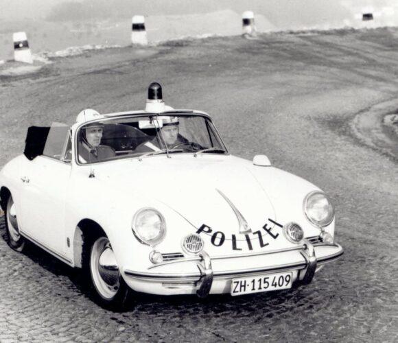 #kapogestern Kantonspolizei Zürich Porsche 356