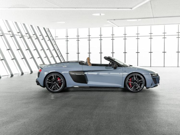 Audi R8 Spyder Seite