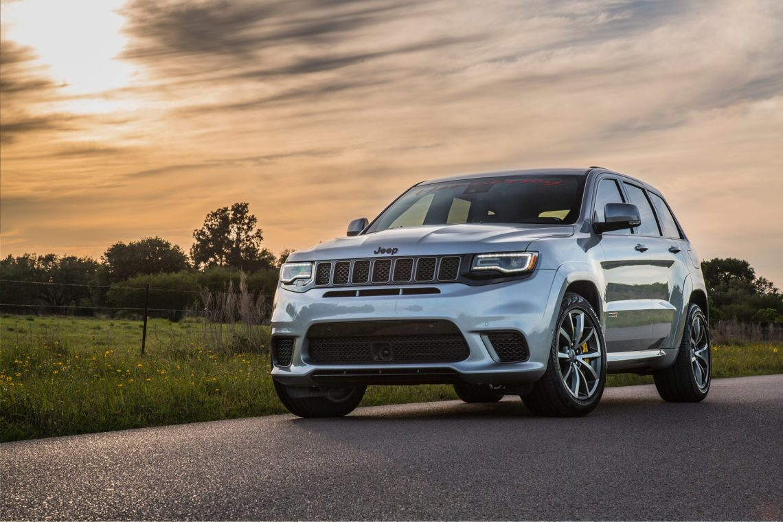 Hennessey Jeep Trackhawk: 1'200 PS SUV-Monster