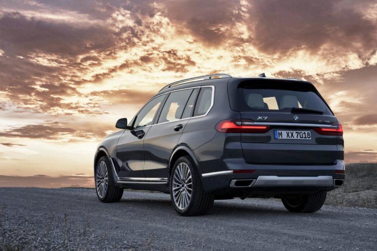 BMW X7 hinten
