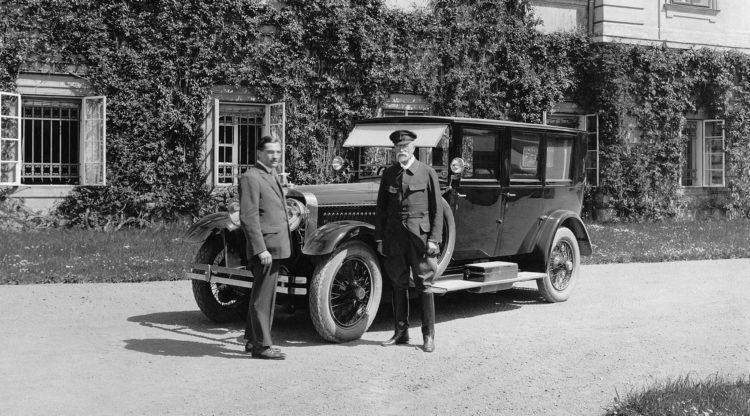 Hispano Suiza front seitlich