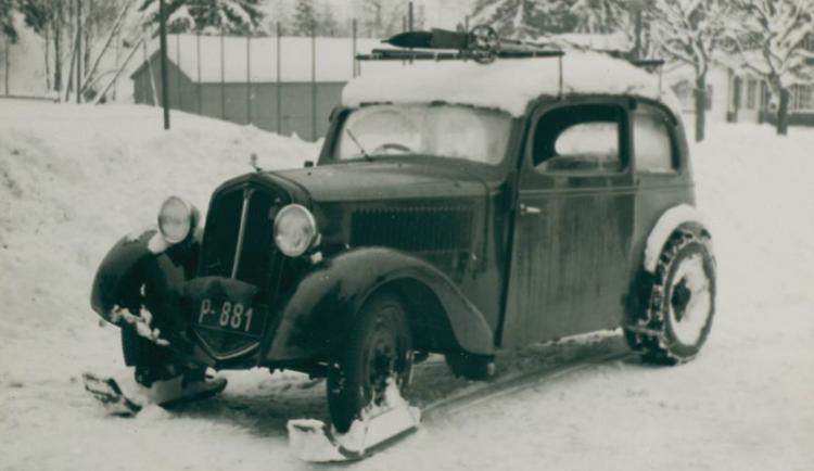 Škoda Popular Ski 1938