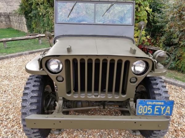 Willys Jeep Steve McQueen