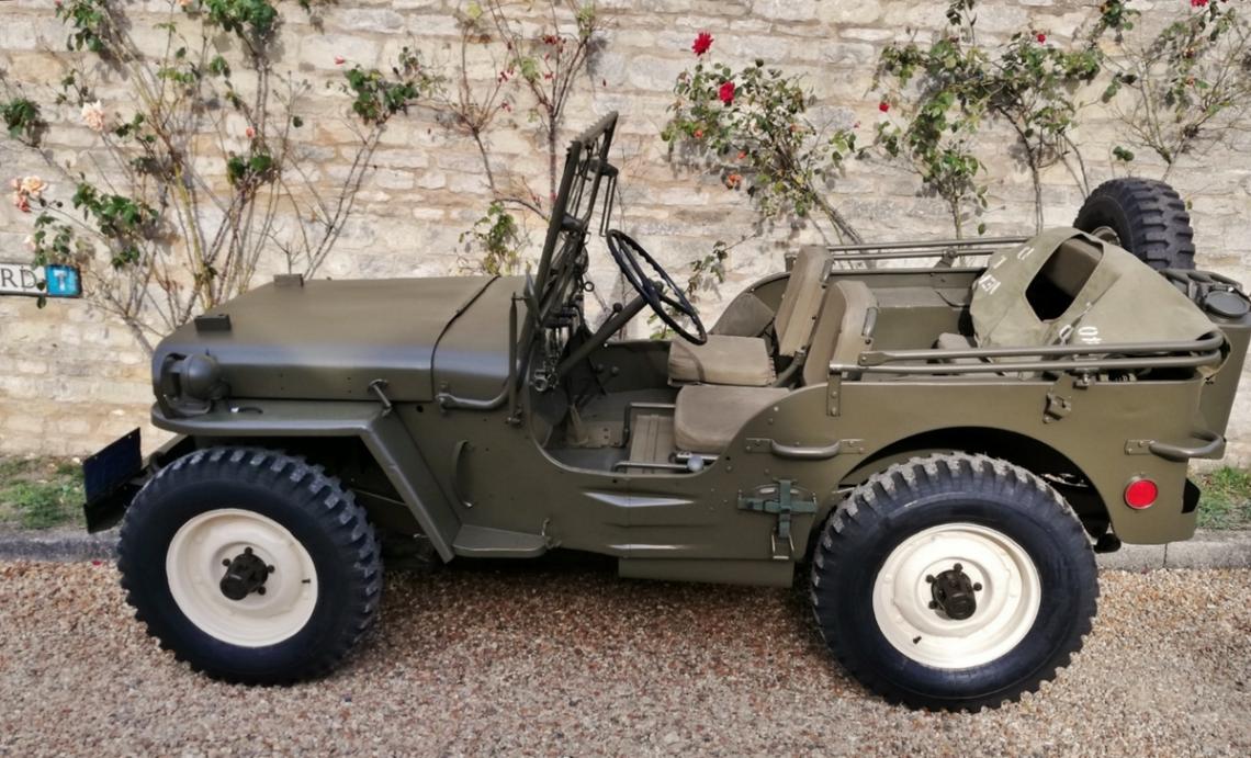 Silverstone Auctions – Steve McQueens Willys Jeep zu ersteigern