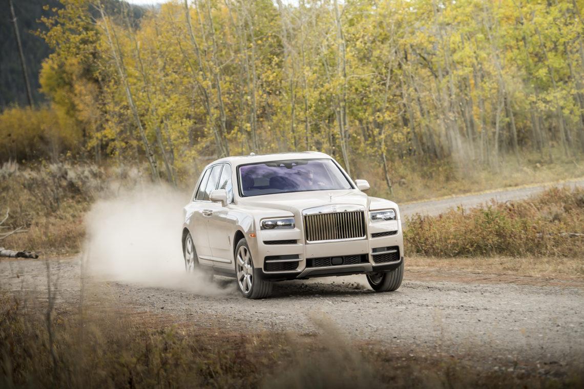 Rolls Royce Cullinan – Luxus SUV