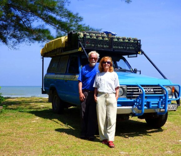 schmidauto Toyota LandCruiser Emil und Liliana Schmid