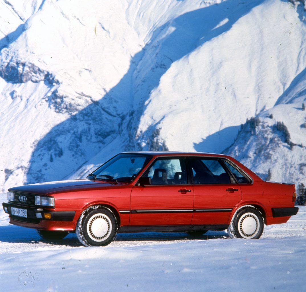 40 Jahre Audi 80 – Der Anfang aller Allradantriebe