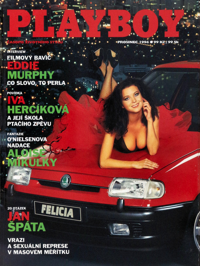 Skoda Felicia Playboy Cover