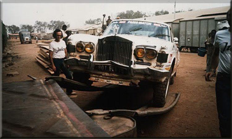 Rolls Royce Corniche Rallye Dakar Jules