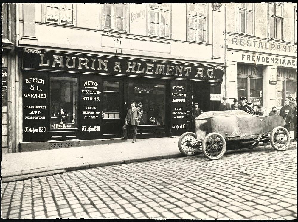 Die Škoda Geschichte, Teil 1: von der Fahrradmanufaktur zum Motorrad-Champion