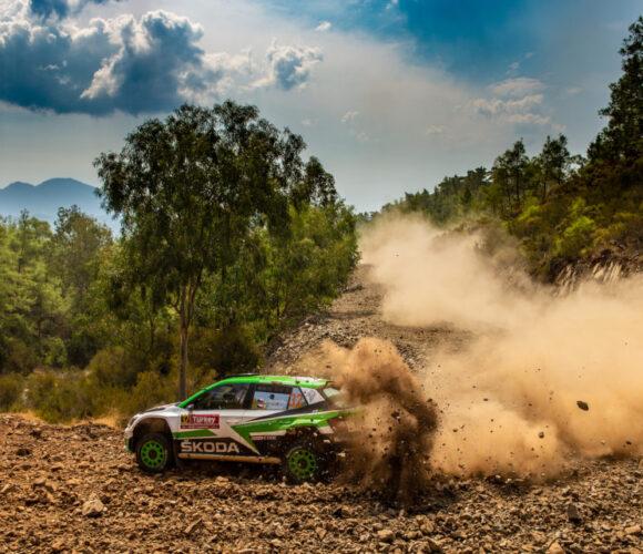 Skoda WRC2 Jan Kopecký Pavel Dresler, Rallye Marmaris 2018 2