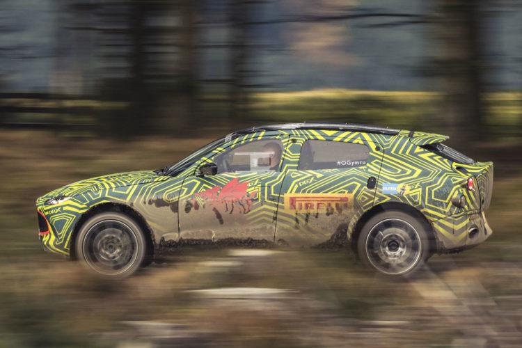 Aston Martin DBX 2018