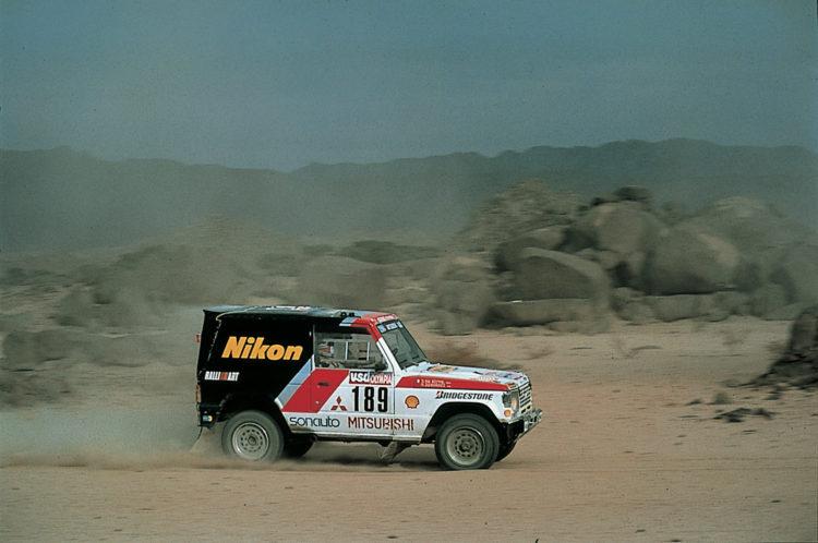 Mitsubishi Motors History Allrad 2018 Pajero Dakar