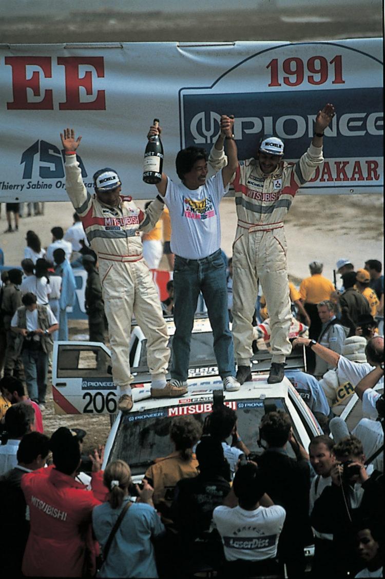 Rallye Dakar 1991