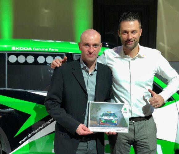 Skoda Kundensport Ivan Ballinari udn Paolo Pianca Schweizer Meister im Skoda Fabia R5 01