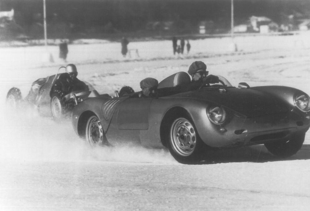 Eisrennen Zell am See Porsche