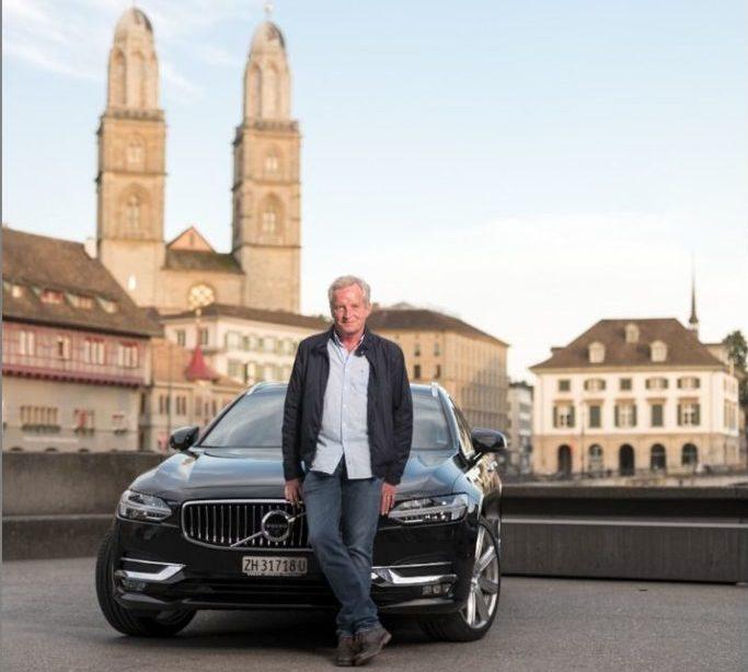 Der Über-Uber-Fahrer kommt aus der Schweiz und fährt Volvo
