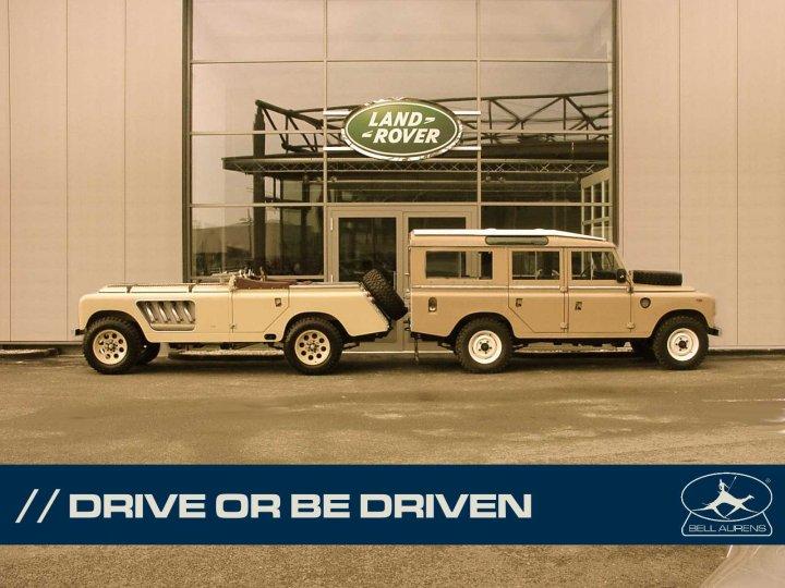 Land Rover Longnose