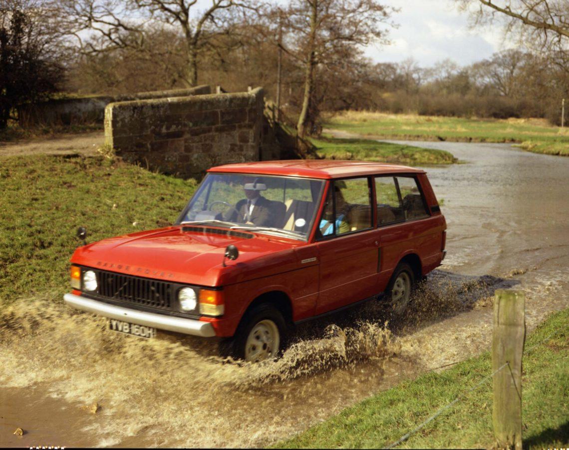 RanRange RoverGeneration Eins 1970