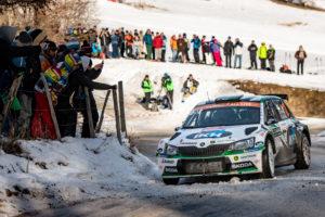 Rallye WM Monte Carlo - Skoda Fabia R5