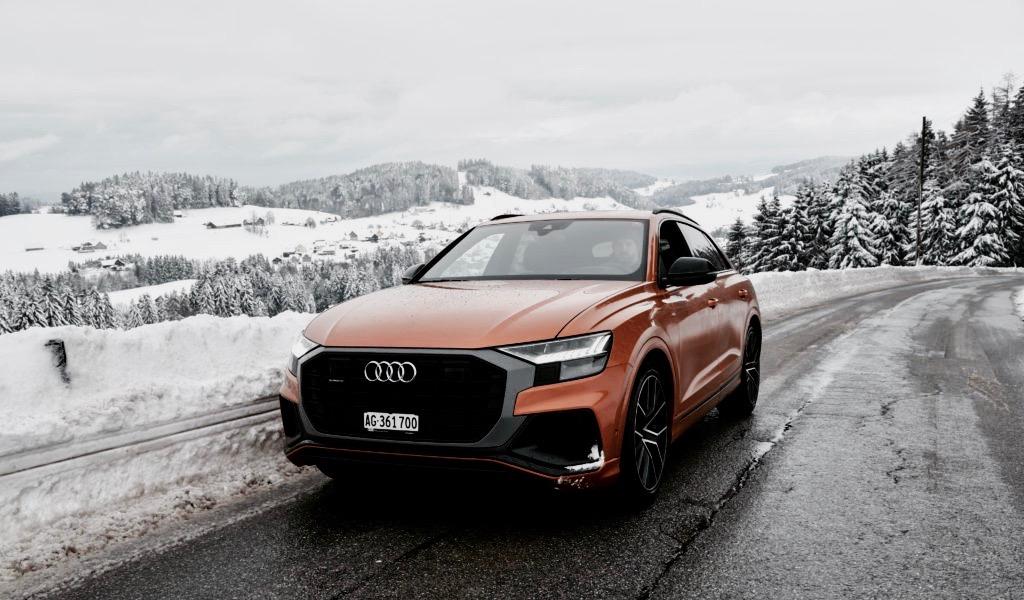 Audi Q8 50 TDI quattro: Vom Genfersee zum Bodensee im neuen SUV-Coupé
