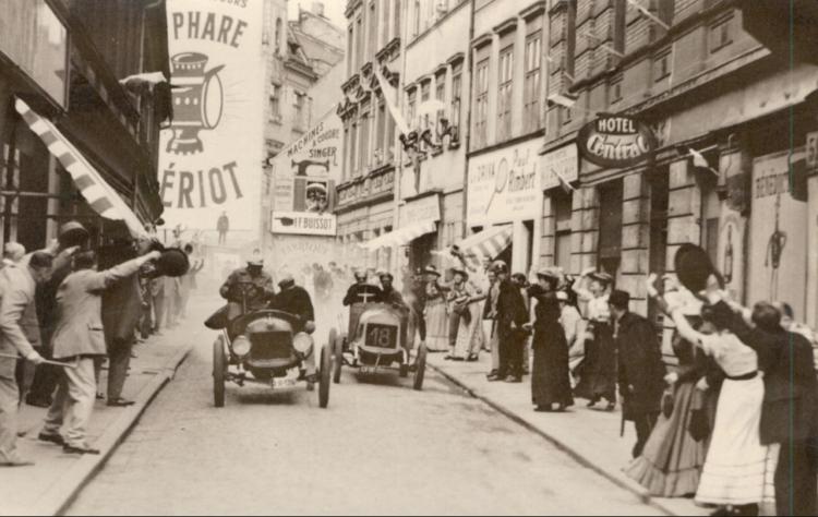 Autorennen 1909