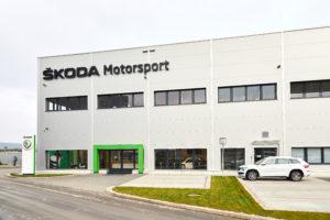 Skoda Motorsport Zentrale