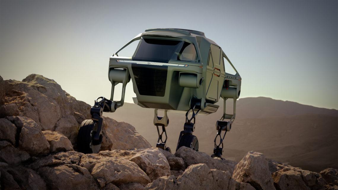 Hyundai Cradle Walking Car Concept – Das Rettungsfahrzeug der Zukunft