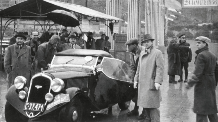 Rallye Monte Carlo 1936