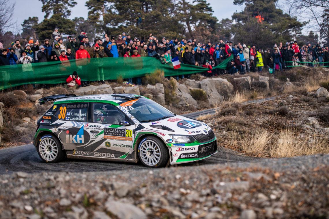 Škoda startet in Monte-Carlo in neuer WRC2 Pro Klasse mit Kopecký und Rovanperä
