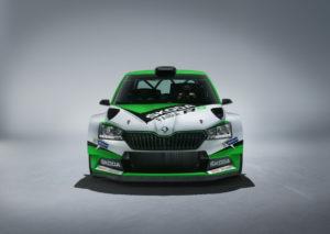 Der Neue Skoda Fabia R5 - Front
